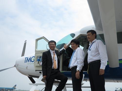 Seaplane at Noi Bai Airport