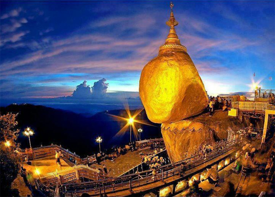 Golden Rock - a must-see place in Myanmar
