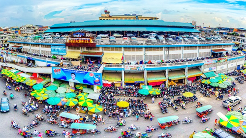 An Dong Market, Saigon, Vietnam