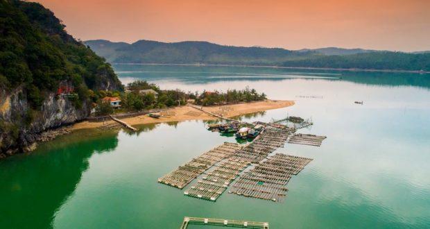 Banh Sua Island in Van Don, Quang Ninh