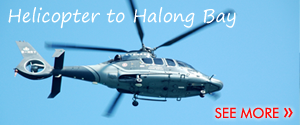 Helicopter to Halong Bay