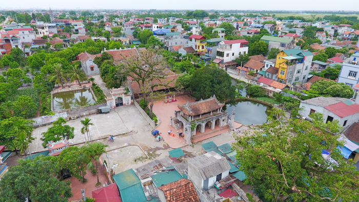 Chuong Village - View from flycam