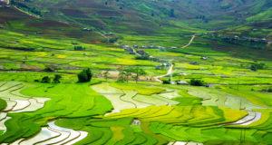 Khau Pha Pass at Mu Cang Chai, North Vietnam
