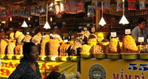 Chau Doc Market in Mekong Delta Vietnam