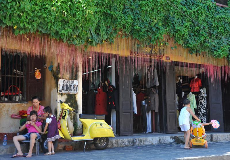 Hoi An Town in Vietnam