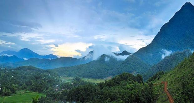 Ba Vi National Park in Ha Noi Vietnam