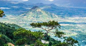 Deo Ngoan Muc Nature Reserve between Ninh Thuan and Lam Dong Vietnam
