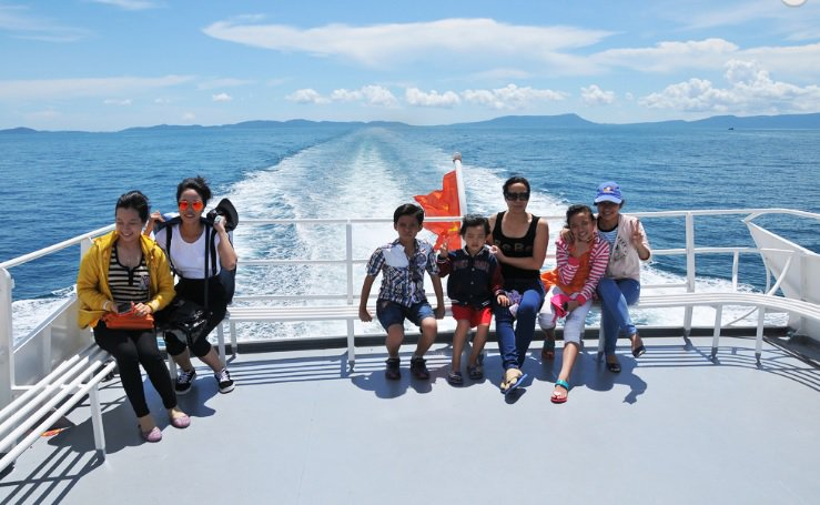 Only 3 hours by speeboat from Vung Tau to Con Dao Island