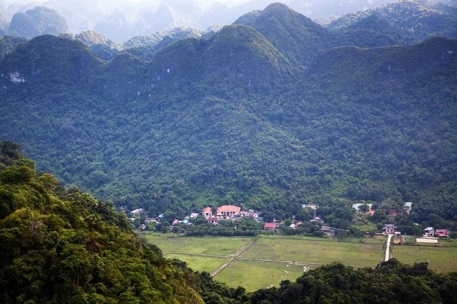 Viet Hai Fishing Village in Cat Ba Island