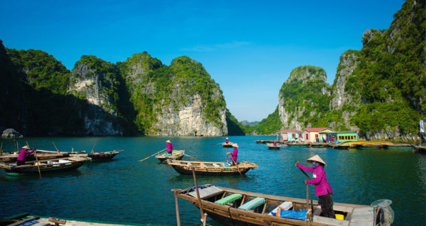 Halong Bay Floating Villages