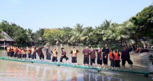 Lan Vuong Tourist Area in Ben Tre Mekong Delta