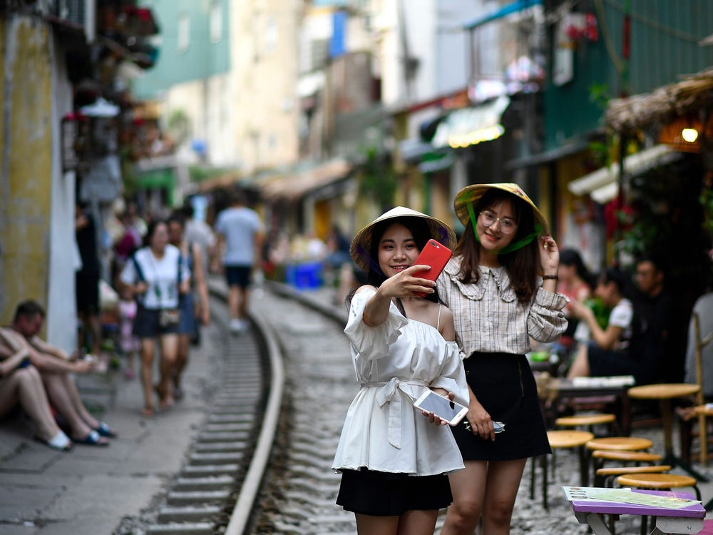 Hanoi shut down its 'Train Street' cafes because they were overrun with selfie-taking tourists